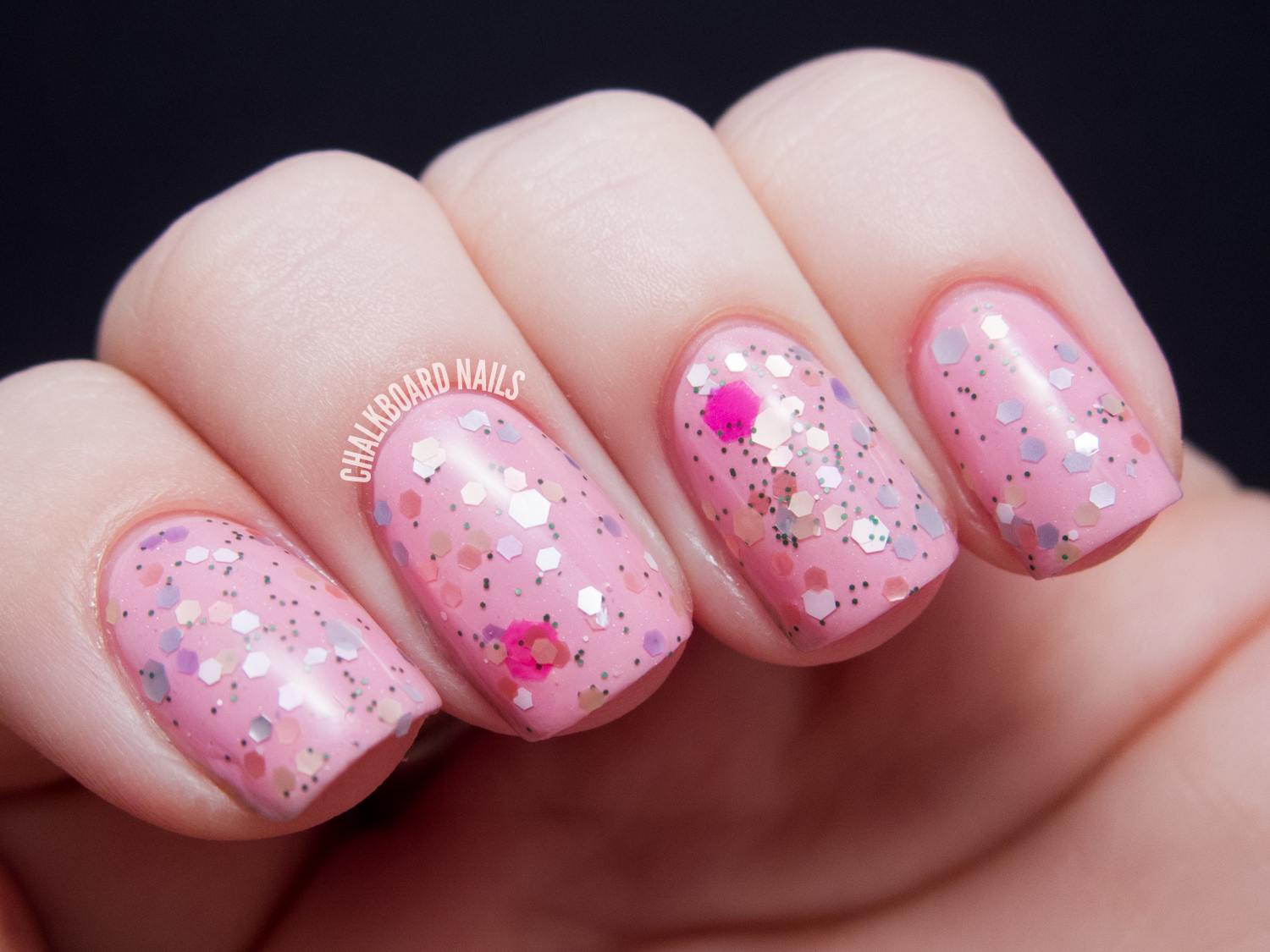 Pretty and Polished Spring Sonata Collection | Chalkboard Nails ...