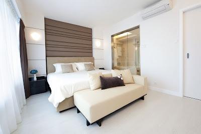 Ruang Tidur Warna Putih 11
