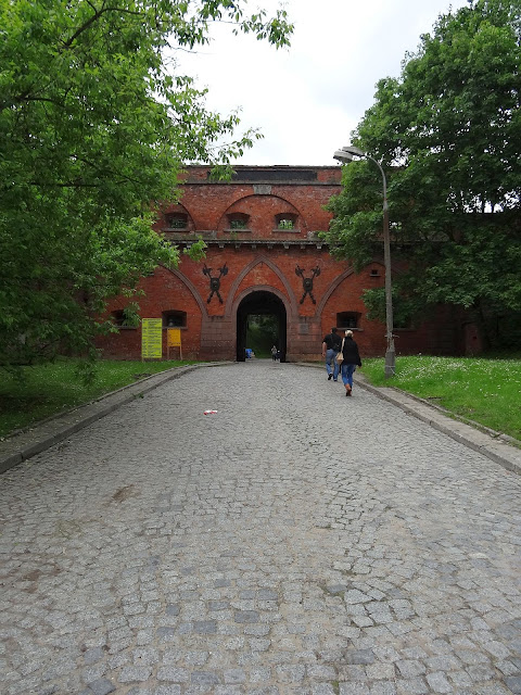Mury Cytadeli Aleksandrowskiej