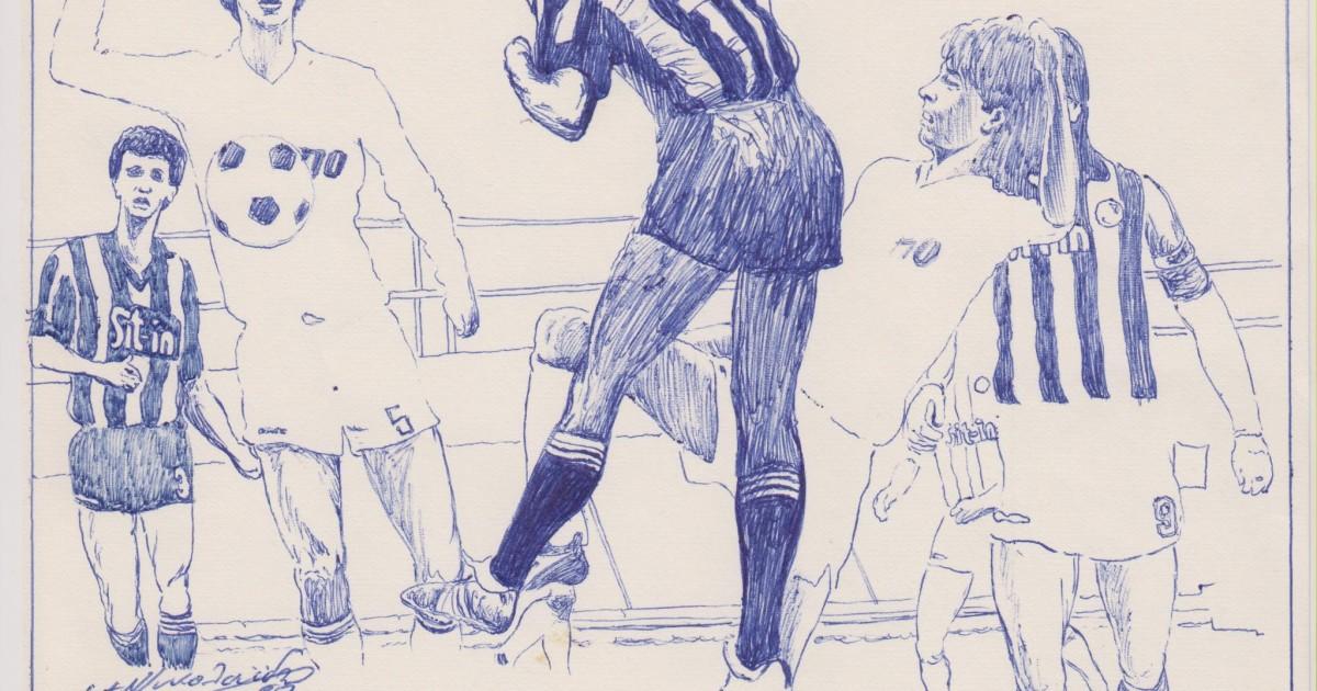 Το ποδόσφαιρο του Αιγάλεω σε κόμικ