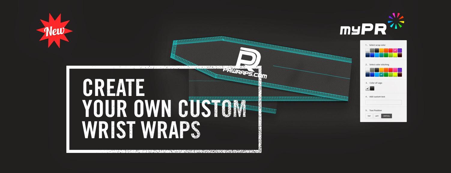 Style Athletics Wrist Wraps PR Wraps Customizable