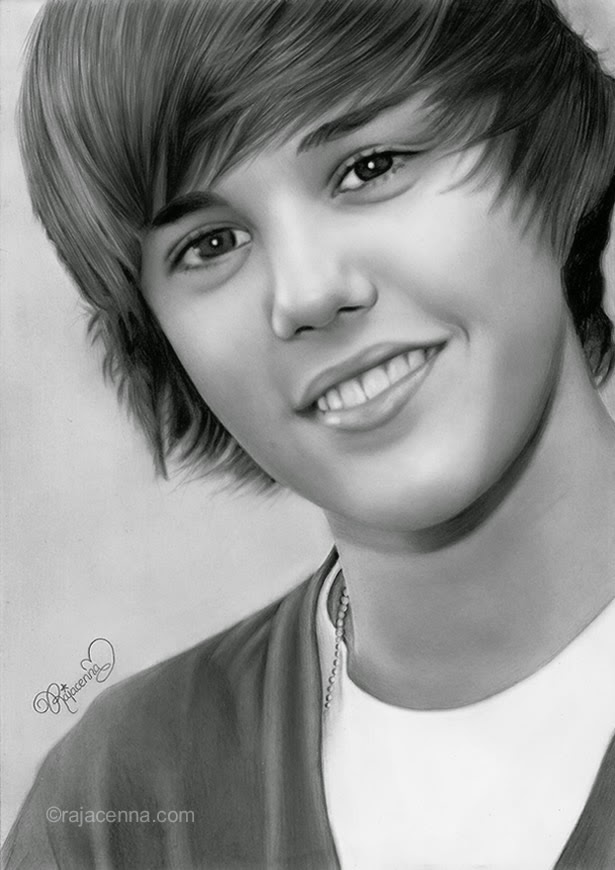 10-Justin-Bieber-Rajacenna-Photo-Realistic-drawings-from-a-novice-Artist-www-designstack-co