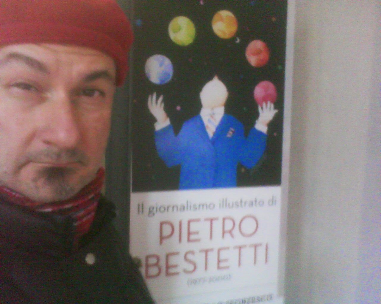 EXHIBITION  OFCARTOONIST PIETRO  BESTIATI  IN  CASTELO  SFORZA