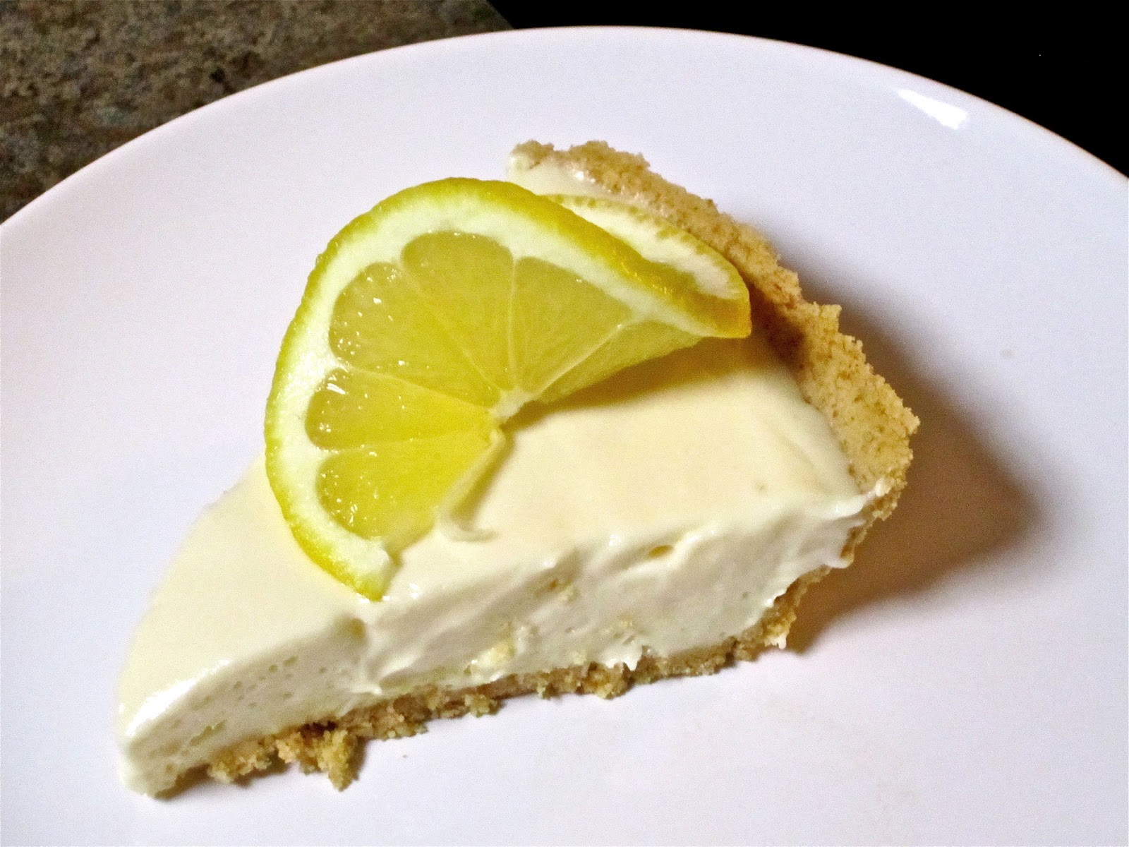 piece of cake . . .: Lemon Cream Cheese Pie