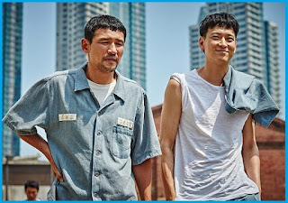 Hwang Jung Min and Gang Dong Won
