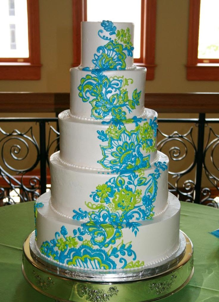 Wedding stuff ideas a turquoise and lime green wedding - Turquoise and lime green decor ...