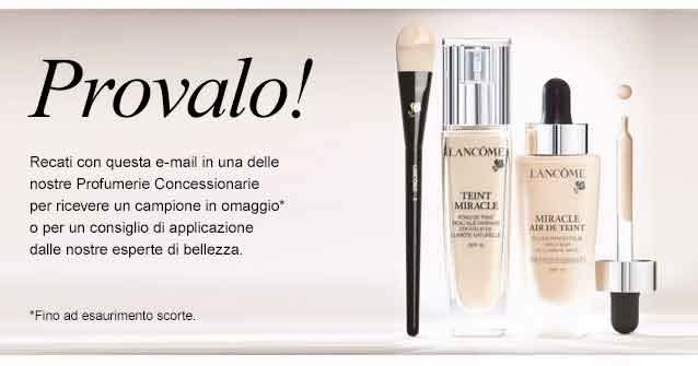 lancome teint miracle free sample