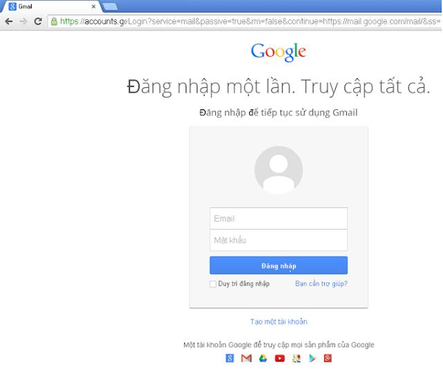 ddang ky gmail