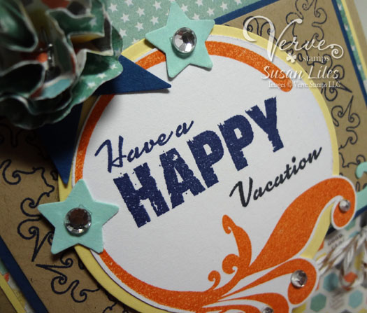 Of Course I Have Nothing On The Brain BUT Our Vacation So HAD To Make This Fun HAPPY VACATION Card And Pretend Give It Eric
