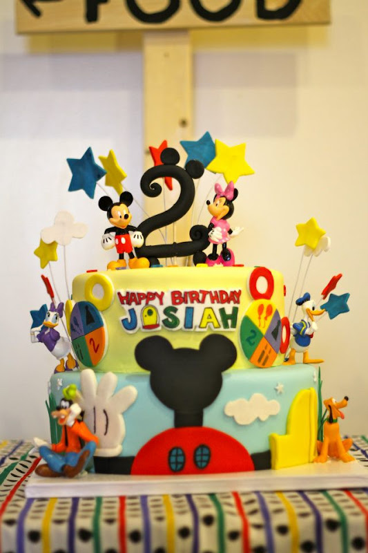 Karas Party Ideas Mickey Mouse Clubhouse 2nd Birthday Party