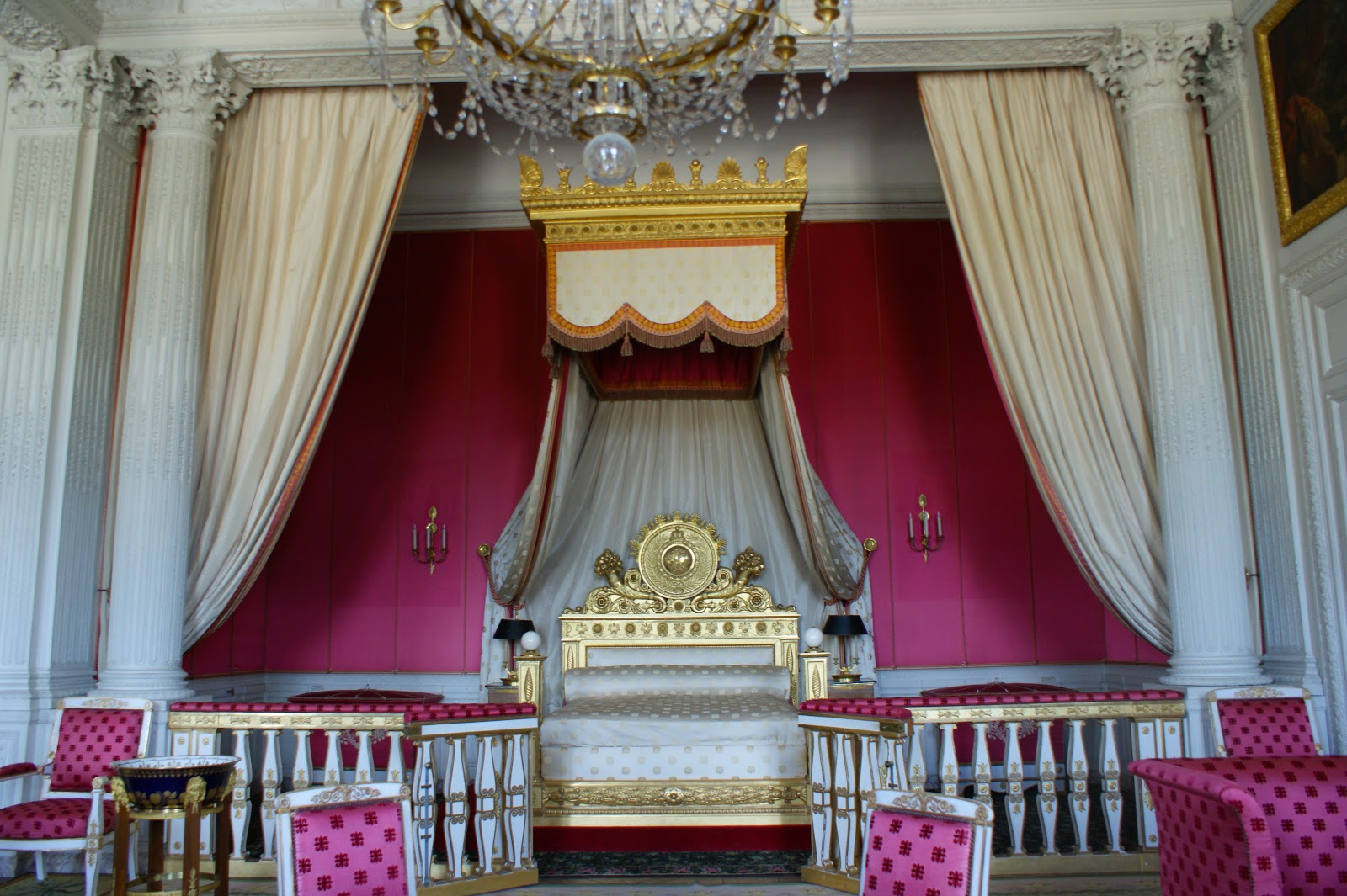 Visite au chateau de versailles v fashion world for Chambre louis xiv