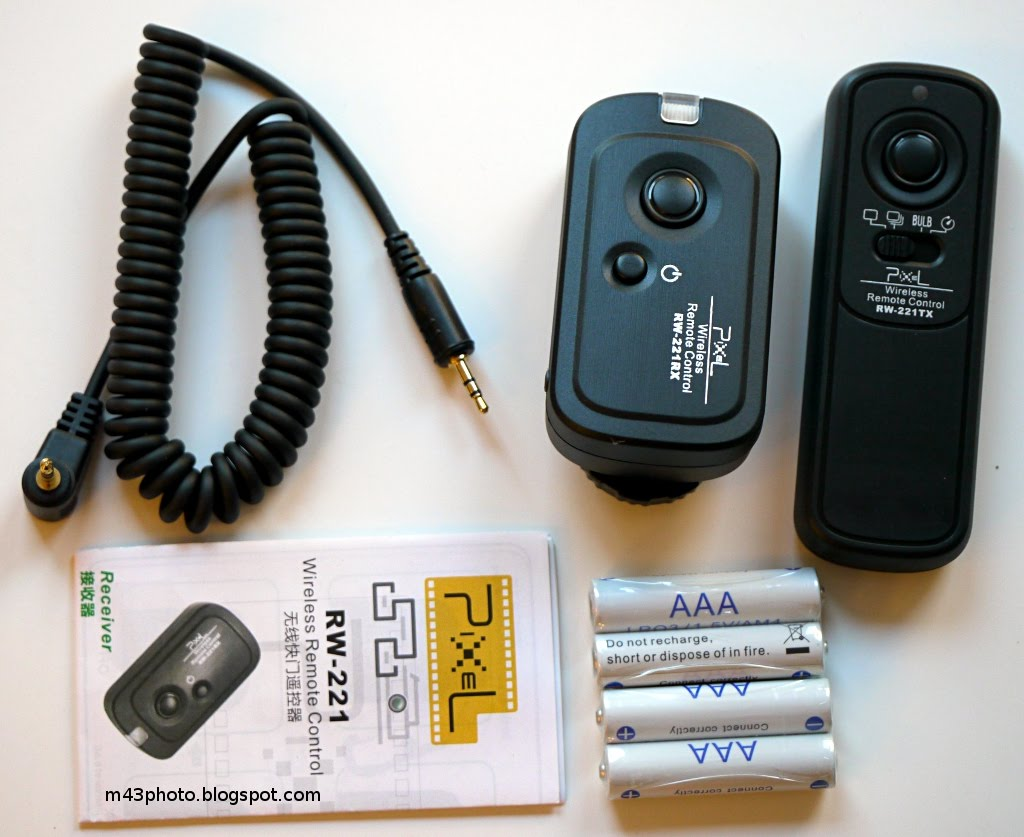 Micro 4 3rds Photography Pixel Rw 221 Wireless Rf Remote Control Infra Red For Nikon Camera