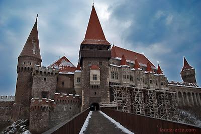 Castillo, prisión de Drácula en Hunedoara