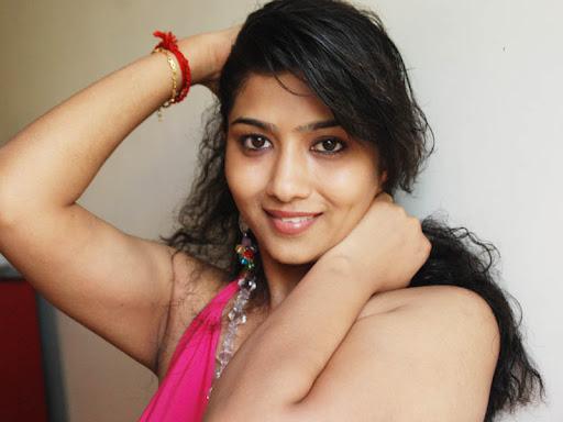 Naughty poses Liya sree in pink dress spicy photos