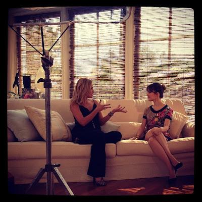 entrevista para programa Eliana especial