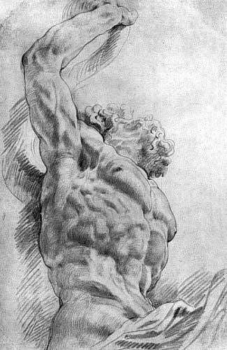 Rubens Figure Drawings Figure Drawing Two