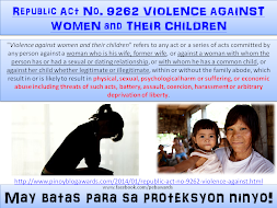 RA 9262 VIOLENCE AGAINST WOMEN and CHILDREN