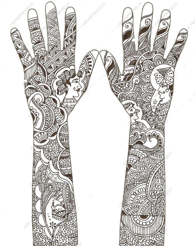 Mehndi Henna Mix : Mehndi design henna paste artists complex