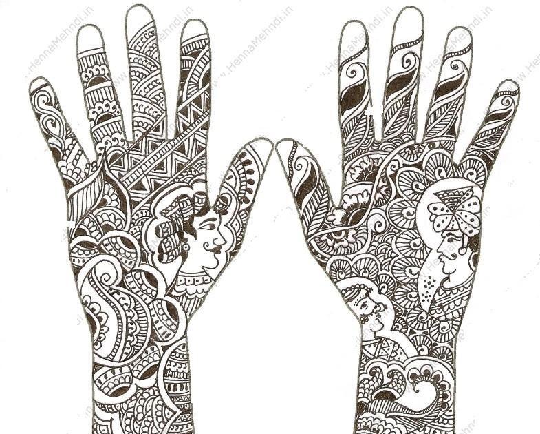 Mehndi Ceremony Explained : Bridal mehndi desings latest pakistani