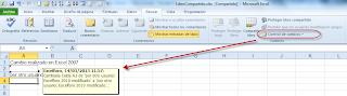 Compartir un Libro de Excel.