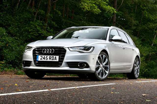 2012 Audi A6 Avant Silver Wallpaper