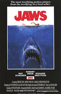 Cartel original de la película Tiburón de 1975