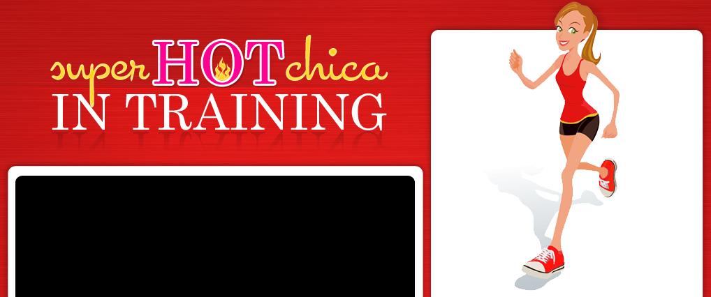Super Hot Chica in Training