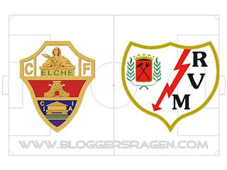 Prediksi Pertandingan Elche vs Rayo Vallecano