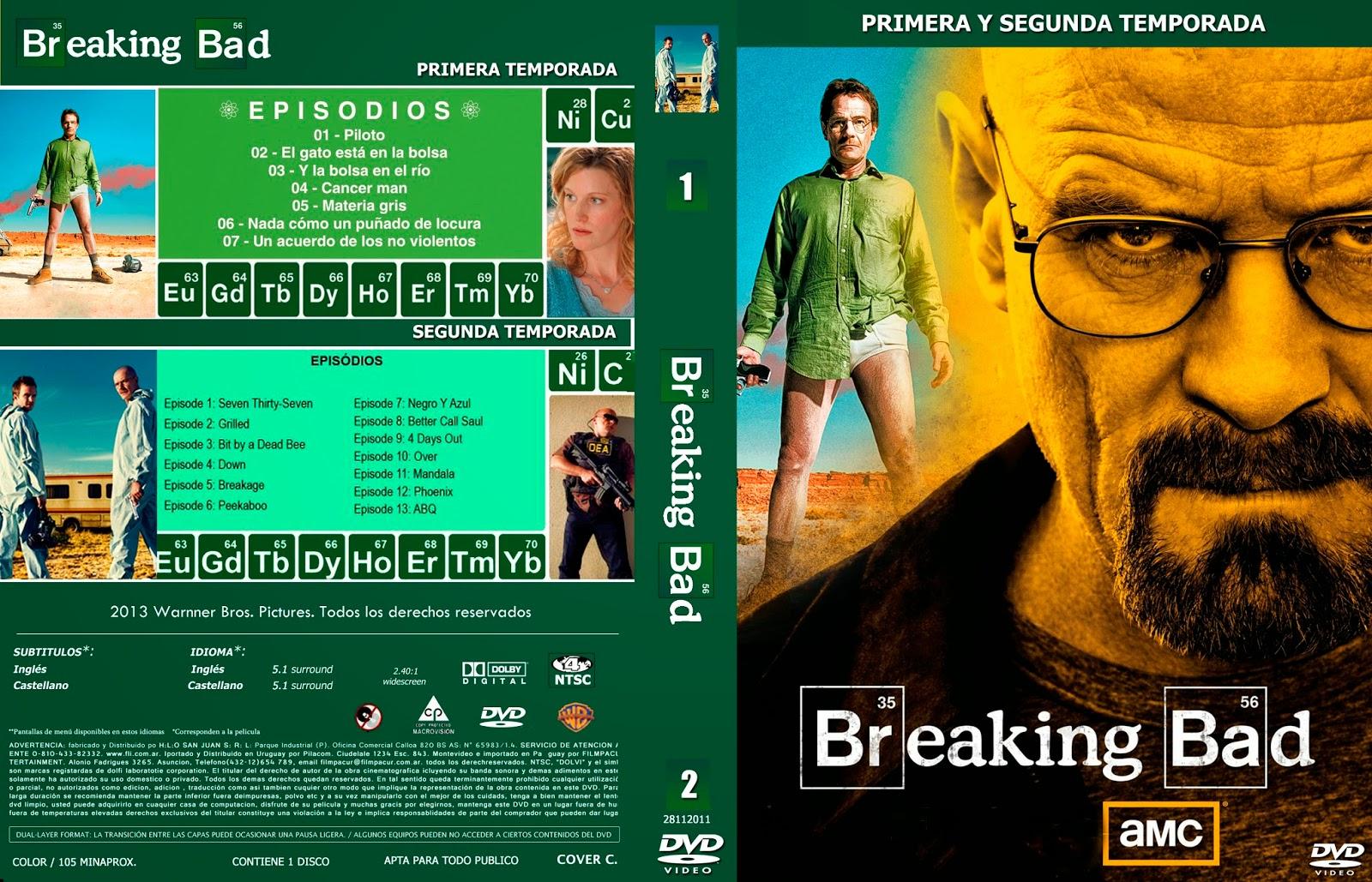 COVERCARATULAS DE DVD - CD COVERCREATORS: BREAKING BAD \