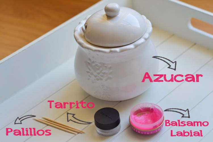 ingredientes exfoliante labios casero