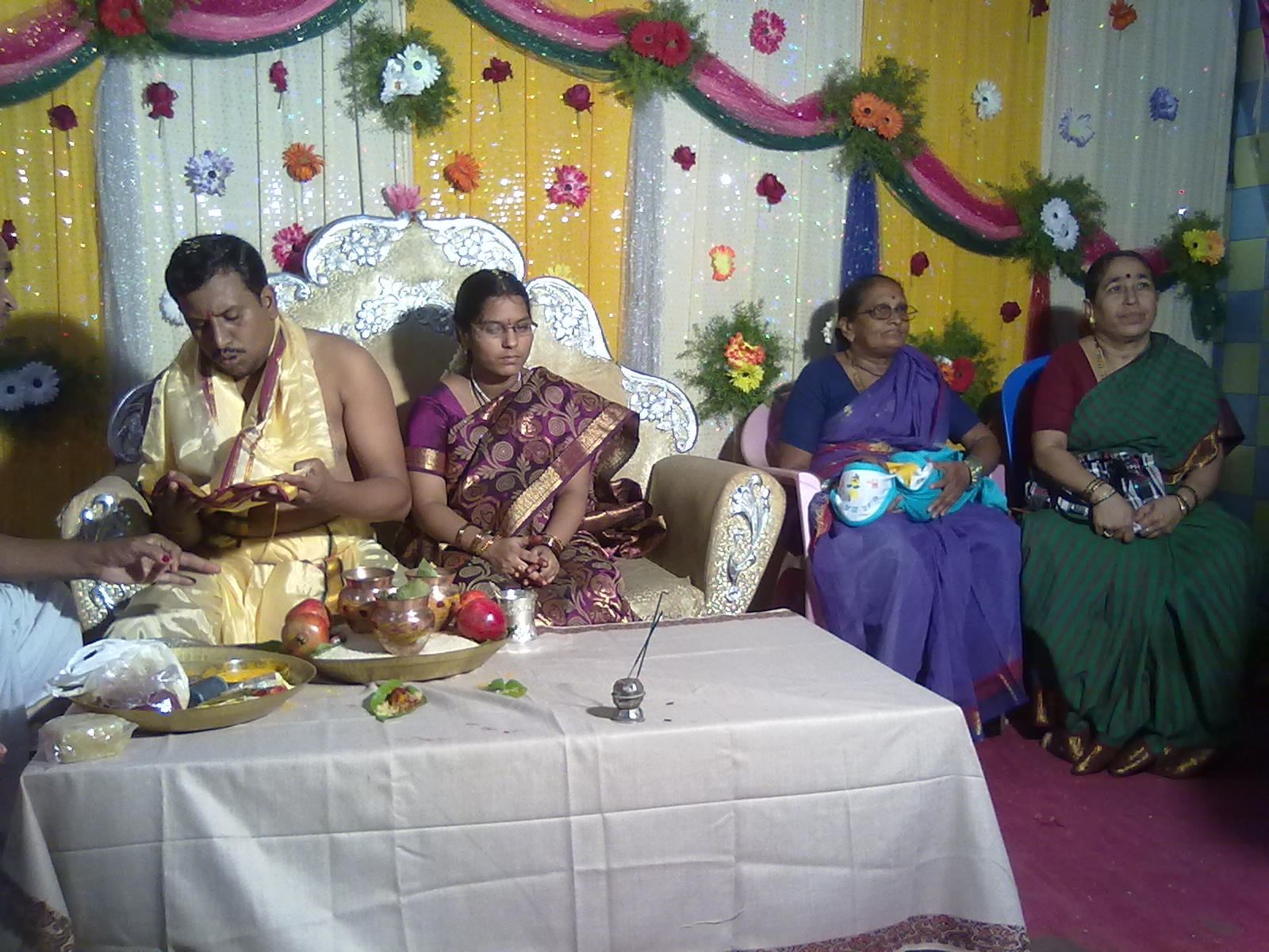 Chaganti Koteswara Rao Daughter's Wedding