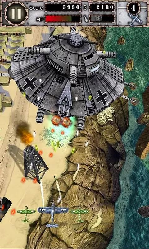 Rasakan Game Pesawat Air Attack HD ModApk | SegalaReview