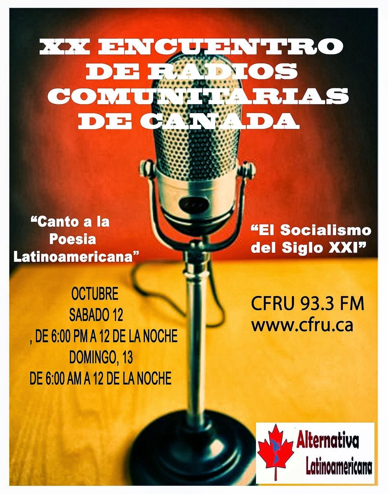 XX Encuentro de Radios en Canadá