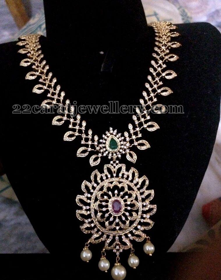 Diamond Style Imitation Jewelry Gallery Jewellery Designs