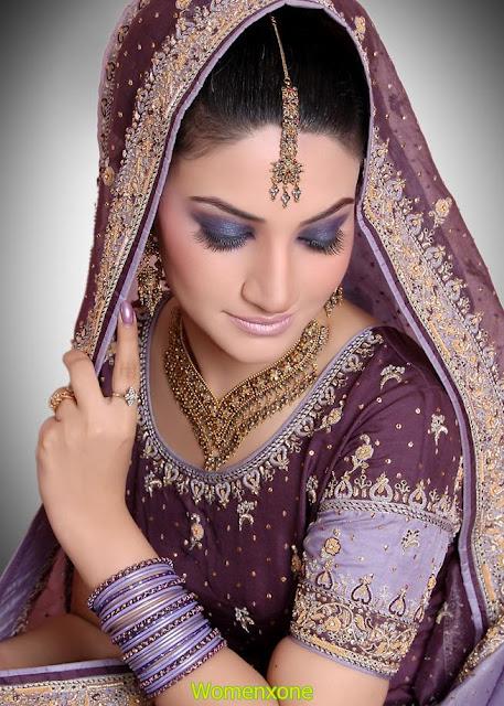 Beuatiful-glitter-bridal-makeup