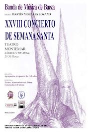 XXVIII CONCIERTO DE SEMANA SANTA