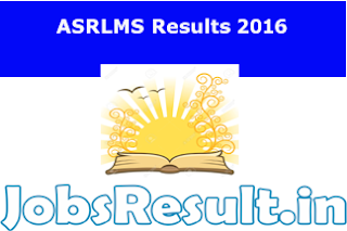 ASRLMS Results 2016