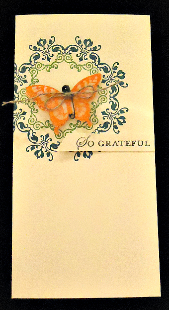 Clean & Simple So Grateful Card