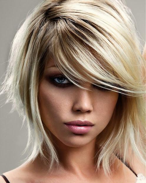 cute blonde haircuts long