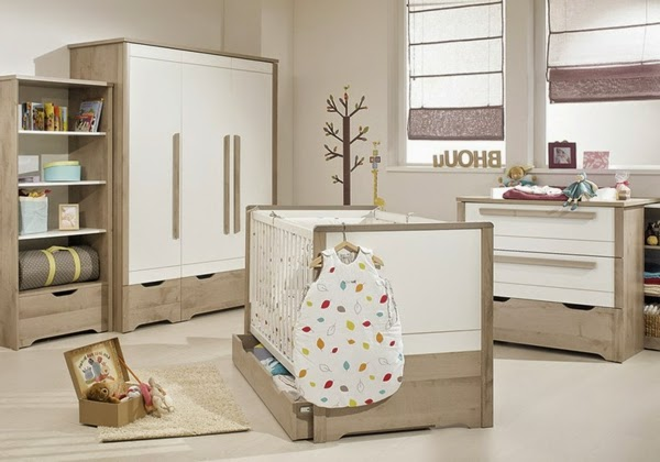 15 ultra modern baby room ideas furniture and designs for Neutral color furniture