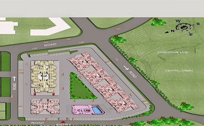 Paarth Republic Mega Township Layout Plan