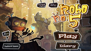 Screenshots of the Robo no.5 for Android tablet, phone.