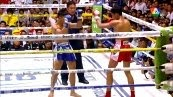 วิดีโอคลิปมวยไทย สกุลชัยเล็ก ดาบแป๋งนครบาล พบกับ ลมหวล ศิษย์ลมหนาว (ศึกมวยไทย 7 สี วันอาทิตย์ที่ 31 สิงหาคม 2557)(คู่ที่สอง)