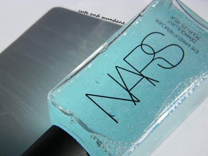 NARS eye makeup remover review