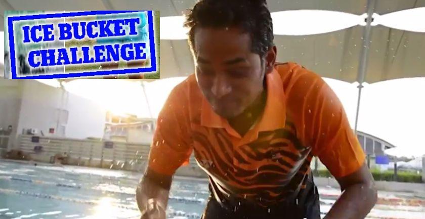 'Ice Bucket Challenge' Cabaran Baldi Ais