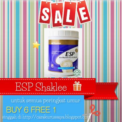 ESP Shaklee Mendapat Sambutan Luarbiasa - Promosi Oktober 2014