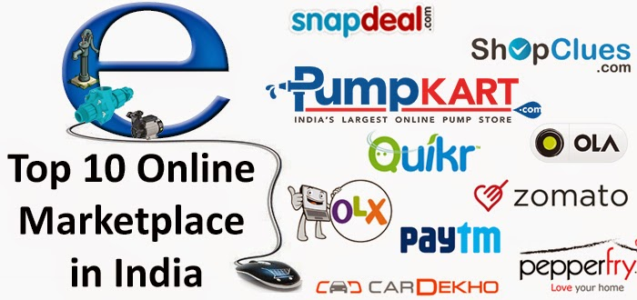 Top 10 Online Marketplaces in India | Top Online Marketplaces India - Pumpkart.com