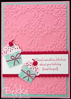 Create a Cupcake Birthday Card