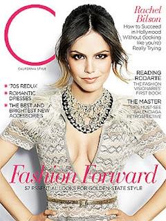Rachel Bilson - C Magazine Cover