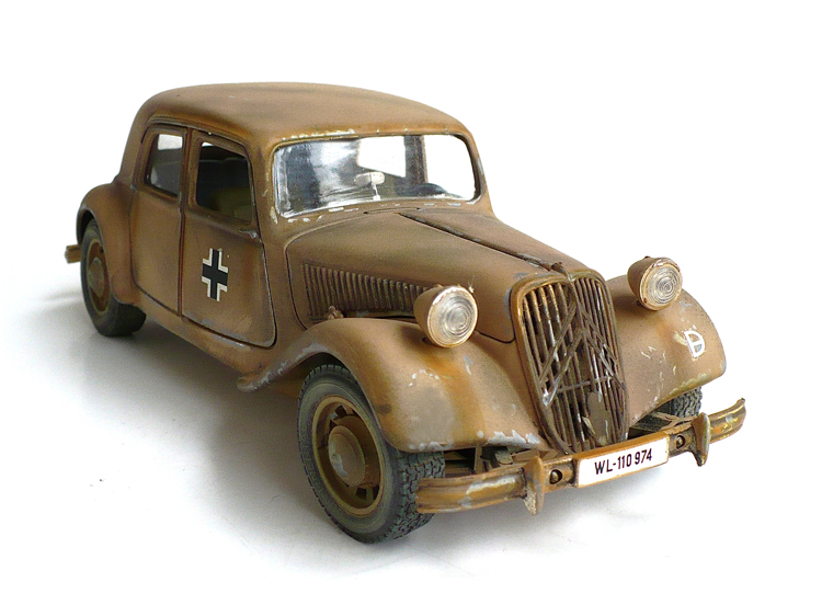 the great canadian model builders web page   citroen traction avant 11 cv
